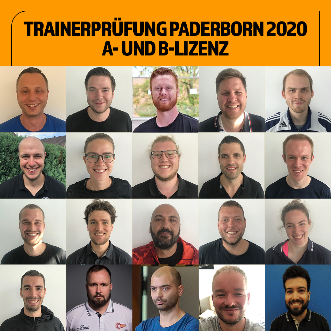Trainer Collage2020 Prüfungen